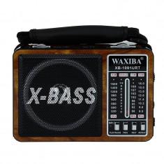 Radio portabil WAXIBA XB-1091M Retro Maro
