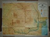 Harta republicii socialiste romania din anul 1969