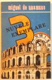 NUVELE EXEMPLARE de MIGUEL DE UNAMUNO , 1991