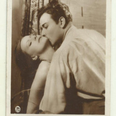 Cp actori : Greta Garbo - Nils Asther, interbelica, Necirculata, Fotografie