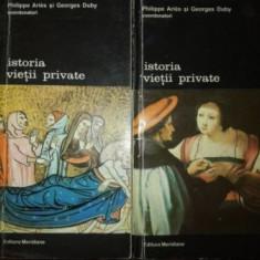 Istoria vietii private vol 3,4- Philippe Aries, Georges Duby
