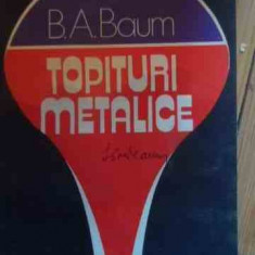 Topituri Metalice - B.a. Baum ,529308