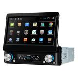 Navigatie Gps Auto Android 1DIN cu ecran retractabil , 7 inch , 2GB RAM + 16 GB ROM , Internet , 4G , Aplicatii , Waze , Wi Fi , Usb , Bluetooth , Mi