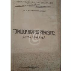 Tehnologia formelor farmaceutice - Partea generala