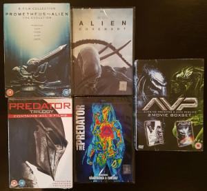 Filme ALIEN / PREDATOR Complete Mega Collection DVD Box Sets