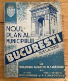 Noul Plan al Municipiului Bucuresti 1943