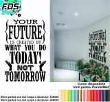 Sticker Perete Motivational 60cm