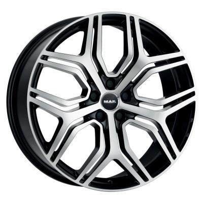 Jante AUDI RS6 (III SERIE) 8.5J x 20 Inch 5X112 et29 - Mak Stardom Black Mirror - pret / buc foto