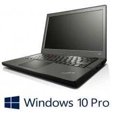 Laptop Refurbished Lenovo ThinkPad X230, Intel Core i5-3210M, Win 10 Pro