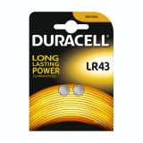 Duracell G12 / LR43 / 186 baterii (Duo Blister) Conținutul pachetului 1x Blister