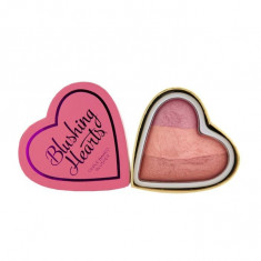 Blush Iluminator Makeup Revolution I Heart Makeup Blushing Hearts Candy Queen of Hearts 10g