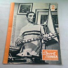 REVISTA SPORT SI TEHNICA NR.2/1969