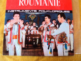 Vinil   muzica    ROUMANIE  Instruments folcloriques