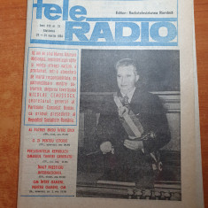 revista tele radio 25 -31 martie 1984