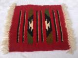 Tesatura veche din lana lucrata manual (2)