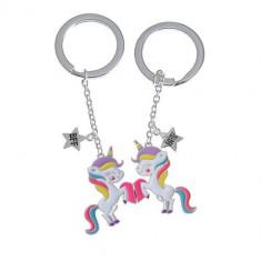 Set brelocuri BFF, unicorni