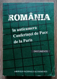 Lot 3 carti documente Romania Razboiul Mondial