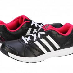 Pantofi sport dama Adidas Performance Essential Star w cblack-ftwwht-bopink M19918