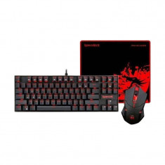 Kit tastatura si mouse Redragon Essentials 3-in-1 V2