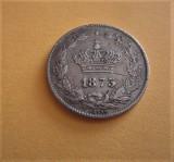 50 bani 1873, detalii superbe