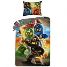 Lenjerie de pat LEGO Ninjago LEG-374