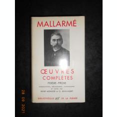 STEPHANE MALLARME - OEUVRES COMPLETES. POESIE-PROSE (1945, editie bibliofila)