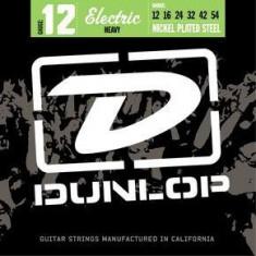 Corzi chitara electrica Dunlop Nickel Plated Steel 12- Heavy 12-54