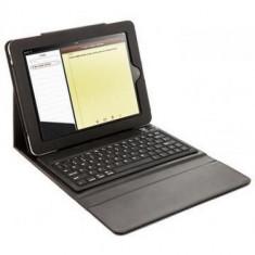 iPad Air - Bluetooth Keyboard Folio Leather Case Flip Stand - Black