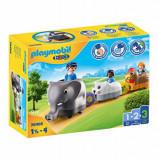 Playmobil 1.2.3, Tren cu animalute