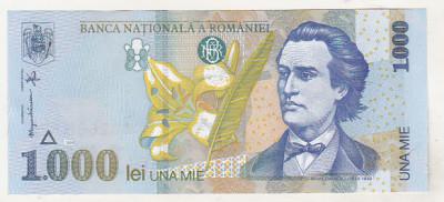 bnk bn Romania 1000 lei 1998 unc BNR mic foto