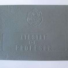 Atestat de profesor R.P.R. in specialitatea limba rusa din 1957
