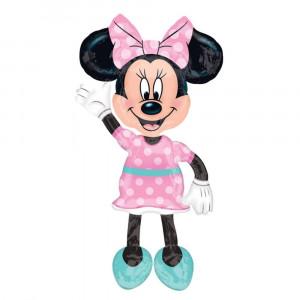 Balon Folie AirWalker Minnie Mouse - 96 x 137 cm, Amscan 34331