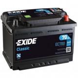 Baterie auto Classic 70Ah, 640A, Exide