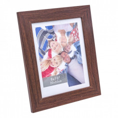 Rama foto, actual investing, 20×25 cm, maro wenge