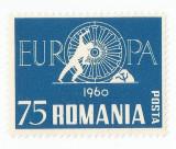 Spania/Romania, Exil romanesc, Europa 1960, em. a XXII-a, dant., 1960, MNH, Nestampilat