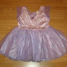 costum carnaval serbare rochie zana printesa pentru copii de 4-5-6 ani