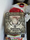 Cutie de tabla , de bomboane  art  nouveau  , pictata, tarista