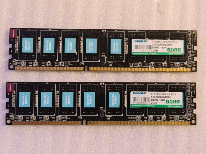 Memorie RAM desktop KINGMAX 2GB DDR3 1600MHz - poze reale
