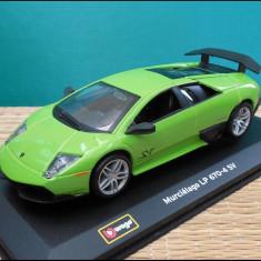 Macheta Lamborghini Murcielago LP 670-4 SV 1:32 Bburago