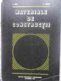 MATERIALE DE CONSTRUCTII-C. BOB, P. VELICA