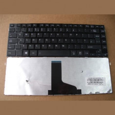 Tastatura laptop noua Toshiba L40-A Glossy Frame Black UK