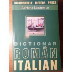DICTIONAR ROMAN-ITALIAN-ADRIANA LAZARESCU