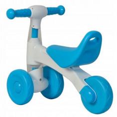 Tricicleta fara pedale Ecotoys albastru