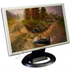 "Monitor LCD 19"" Hanns.G HW191D, Grad A, 1440x900, DVI, VGA, 5ms, Cabluri incluse"