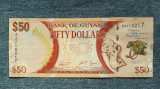50 Dollars 2016 Guyana / dolari