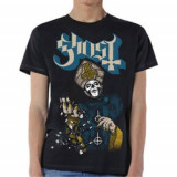Tricou Unisex Ghost: Papa Of The World