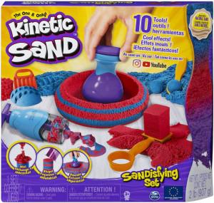 Nisip kinetic Sandtastic cu 10 accesorii Kinetic Sand