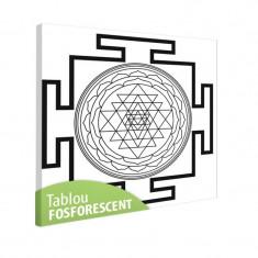 Tablou fosforescent Meditatie 1