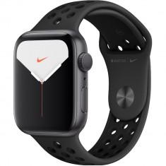 Smartwatch Watch 5 Nike GPS Aluminiu Negru 40MM Si Curea Sport Silicon Anthracite Negru Negru