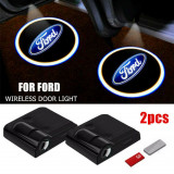 Set 2 Lampi Proiectoare Led Logo Universale Ford